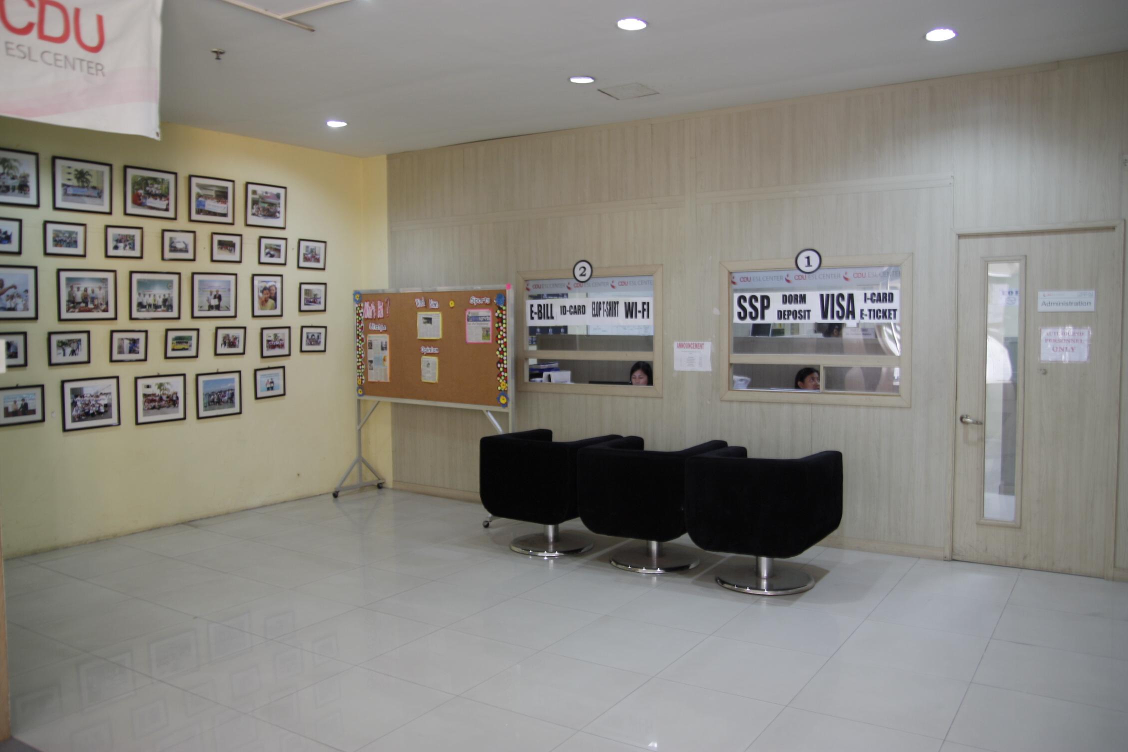 セブCDU-ESL オフィス